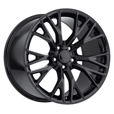 Corvette C7 Z06 2015 Style 22 - Gloss black - Factory Reproductions Wheels