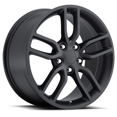 Corvette C7 Z51 Style - Satin black - Factory Reproductions Wheels
